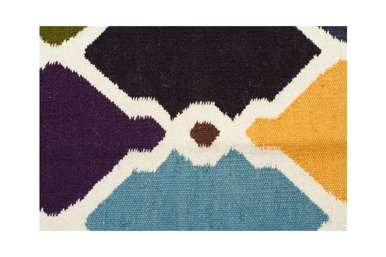 Rio Flat Weave Rug Multi 280x190cm