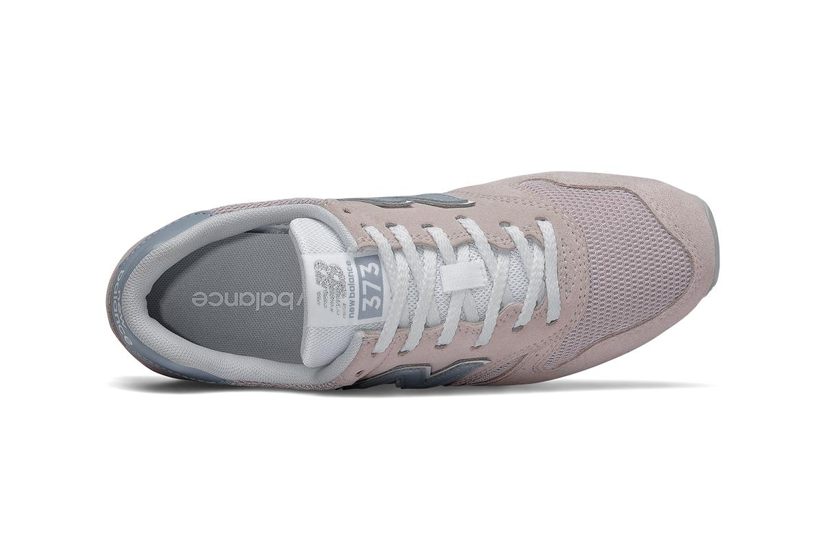 New Balance Women's 373 Sneaker (Space Pink With Reflection, Size 5 US)