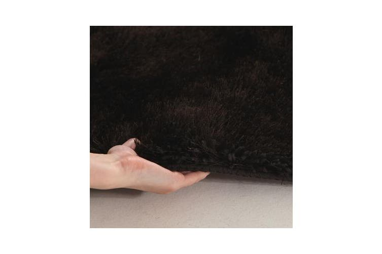 Twilight Shag Rug - Chocolate  225x155cm