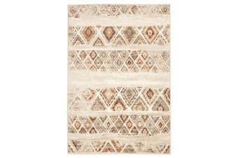 Mayfair Contrast Rust Runner Rug 400X80cm