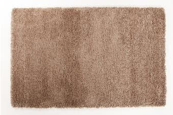 Thick Soft Polar Shag Runner Rug - Latte