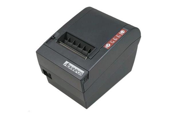 AdvanPOS WP-T800BU Advanpos WP-T800 Thermal Receipt Printer Black - USB