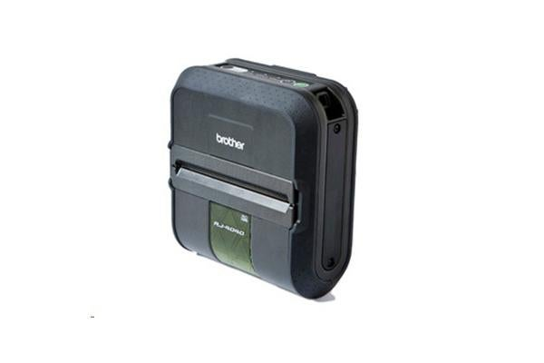 Brother Point-of-Sale RJ4040 RuggedJet Direct Thermal Printer - Monochrome - Portable - Label Print