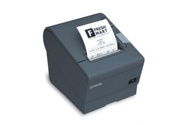 Epson C31CA85657 TMT88V THERMAL RECEIPT PRINTER ETHERNET w/PSU V3 BLK RECEIPT PRINTER BUILT-IN USB