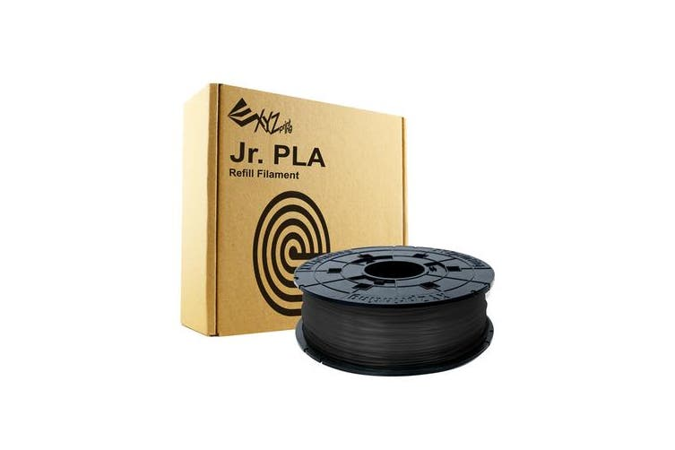 XYZ da vinci filament for mini maker /jr- pla refill pack - black
