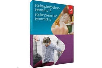 ADOBE Photoshop & Premiere Elements 13 Multiple Platforms English Student Edition 1 USER - OLD