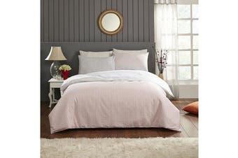 Park Avenue 250 Thread count 100 % Cotton Reversible Quilt Cover Set Double Bed -  Alexa