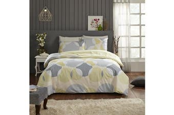 Park Avenue 250 Thread count 100 % Cotton Reversible Quilt Cover Set Double Bed -  Alicia