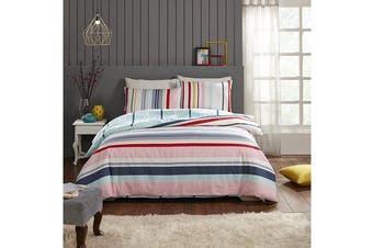 Park Avenue 250 Thread count 100 % Cotton Reversible Quilt Cover Set Queen Bed -  Kaledio