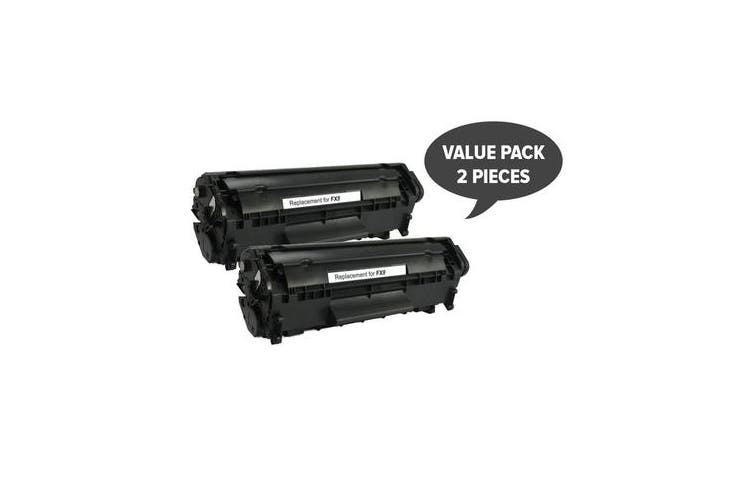 FX-9 Black Premium Generic Toner (Set of 2)
