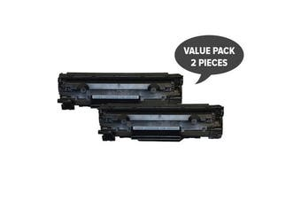 CE278 HP #78A Cart326 Black Generic Toner (Set of 2)