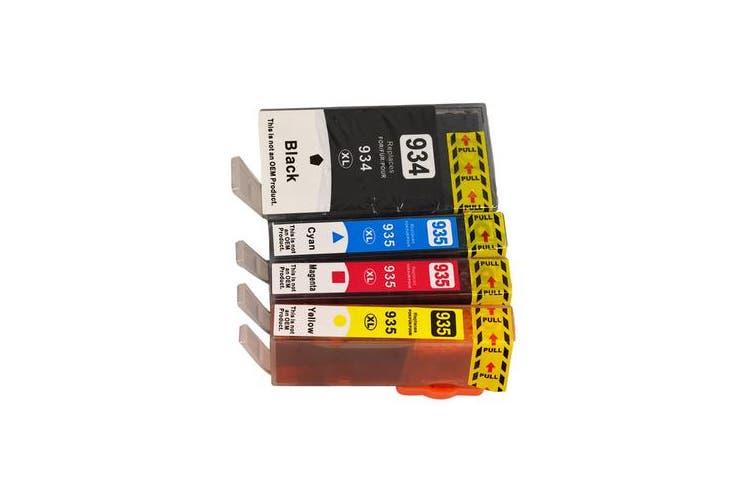 934XL Series Compatible Inkjet Cartridge Set (4 Cartridges)