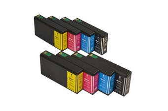 711XXL Series Compatible Inkjet Cartridge Set x 2 (8 cartridges)