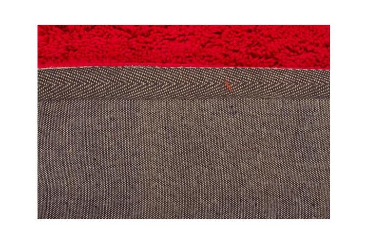 Texture Round Shag Rug Pink 320x230cm