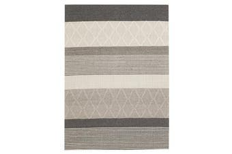 Karlsson Wool Hatch Textured Rug