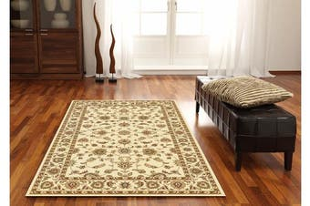Classic Rug Ivory with Ivory Border 170x120cm