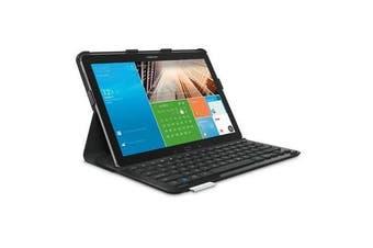 Logitech Keyboard Folio Case Samsung Galaxy Note Pro 12.2 - Black