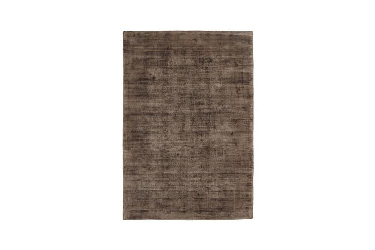 Luxe Modern Distressed Rug Brown 280x190cm