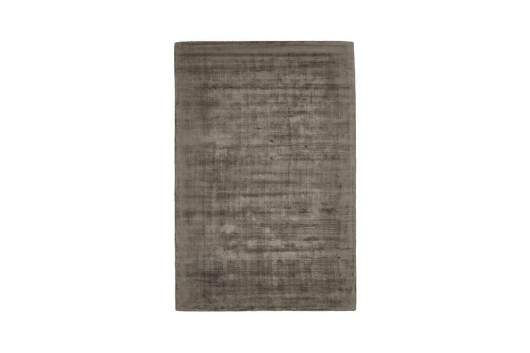 Luxe Modern Distressed Rug Chocolate 225x155cm