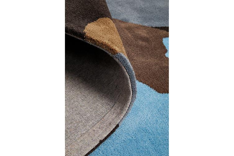 Paint Splatter Design Multi Coloured Rug 280x190cm