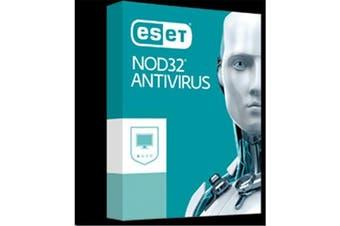 ESET NOD32 AntiVirus Retail Box Product - 1 User - 1 Year for Windows