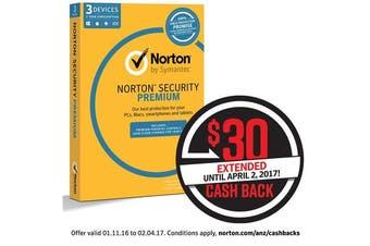 Symantec Norton Security Premium 3.0 25GB (3Device (21353818)