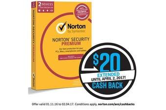 Symantec Norton Security Premium 3.0 2GB (2Device (21353910)
