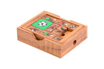 Wolfpack Games Football Towards Freedom Wooden Puzzle