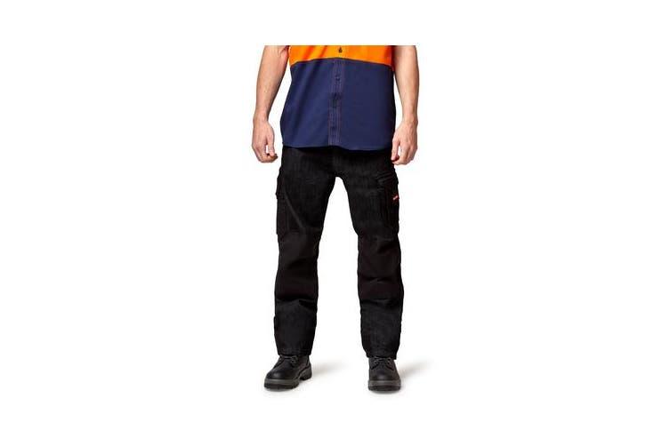 Hard Yakka Legends Jean (Black, Size 82R)