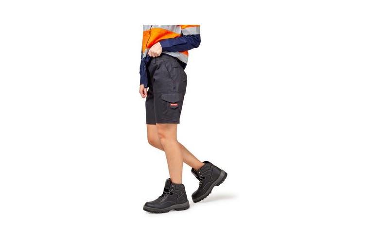 Hard Yakka Vented Cargo Shorts (Navy, Size 10)