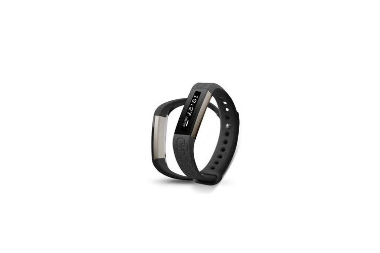 TODO Fitness Band Heart Rate Monitor Camera / Selfie Control App Black