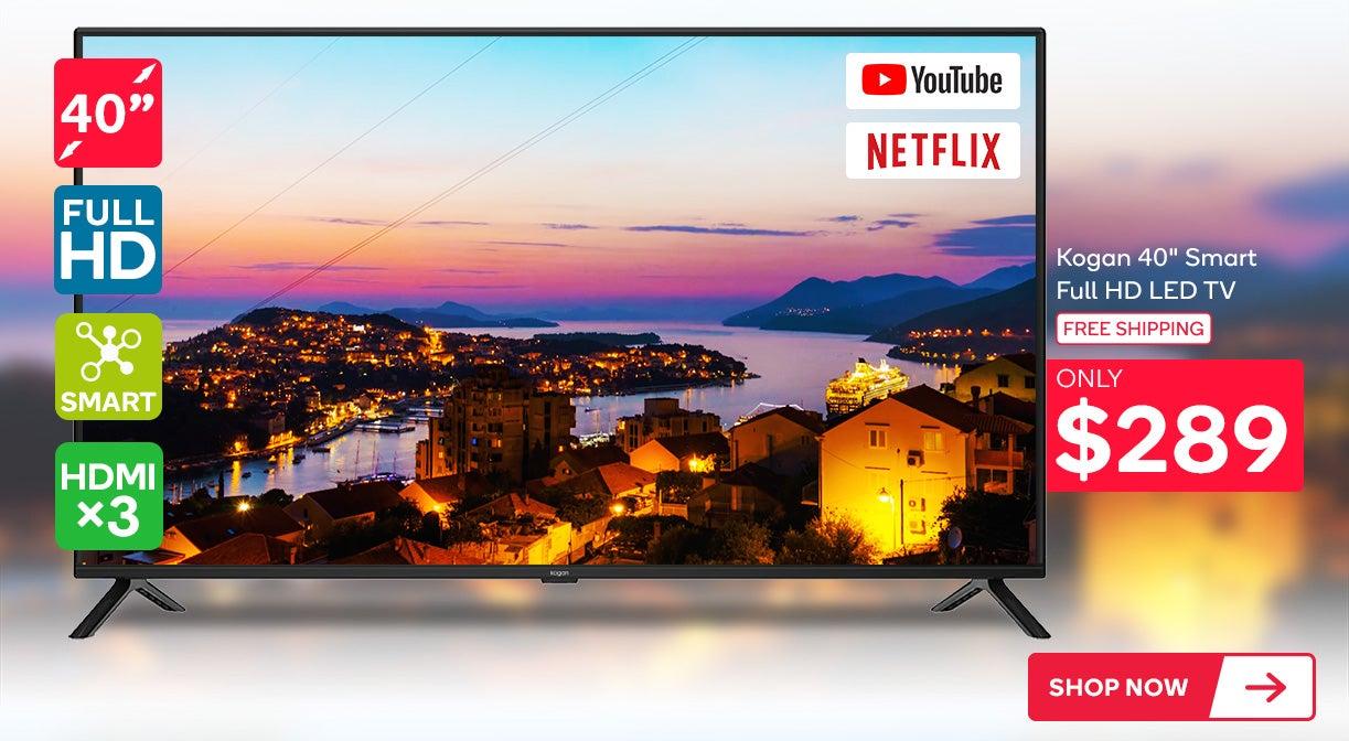 Kogan 40inch Smart Full HD LED TV (Series 7 AF7500)