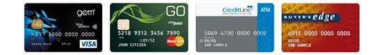 Mastercard GO, VISA GEM, GE CreditLine and Buyer's Edge cards accepted.