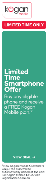 Kogan Mobile - FREE Kogan Mobile Plan with Compatible Smartphones
