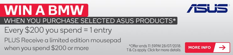 Win a BMW When You Purchase Selected ASUS Products | Ever $200 You Spend = 1 Entry