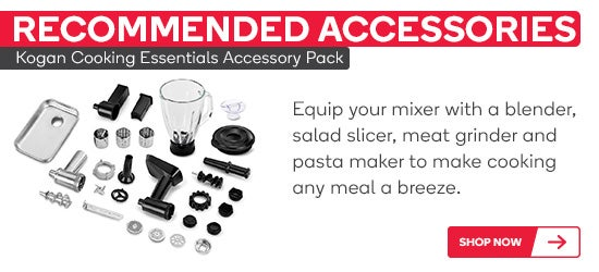 Kogan Cooking Essentials Accessory Pack