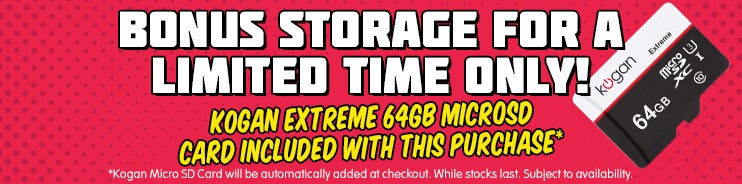 bonus 64GB SD Card with Atlas go purchase
