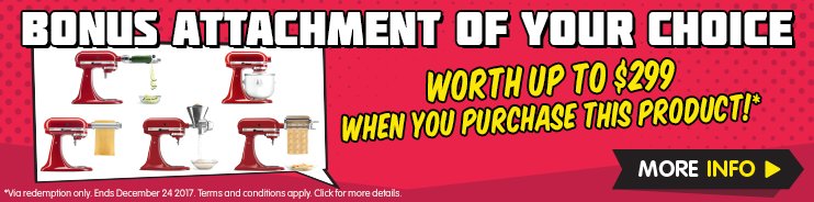 KitchenAid Bonus Attachment Promotion