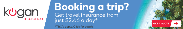 Travel Insurance for your Kogan Travel Holiday!