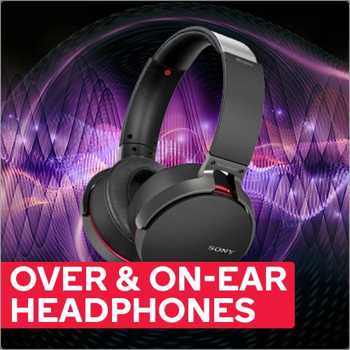Over & On-Ear Headphones