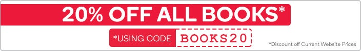 20% OFF ALL Books Using the Code 'BOOKS20' at Checkout*