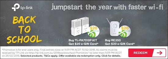 Get $20 e-Gift Card Via Redemption