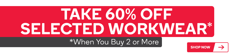 KAU - Take 60% Off Selected Workwear When Your Buy 2 Or More