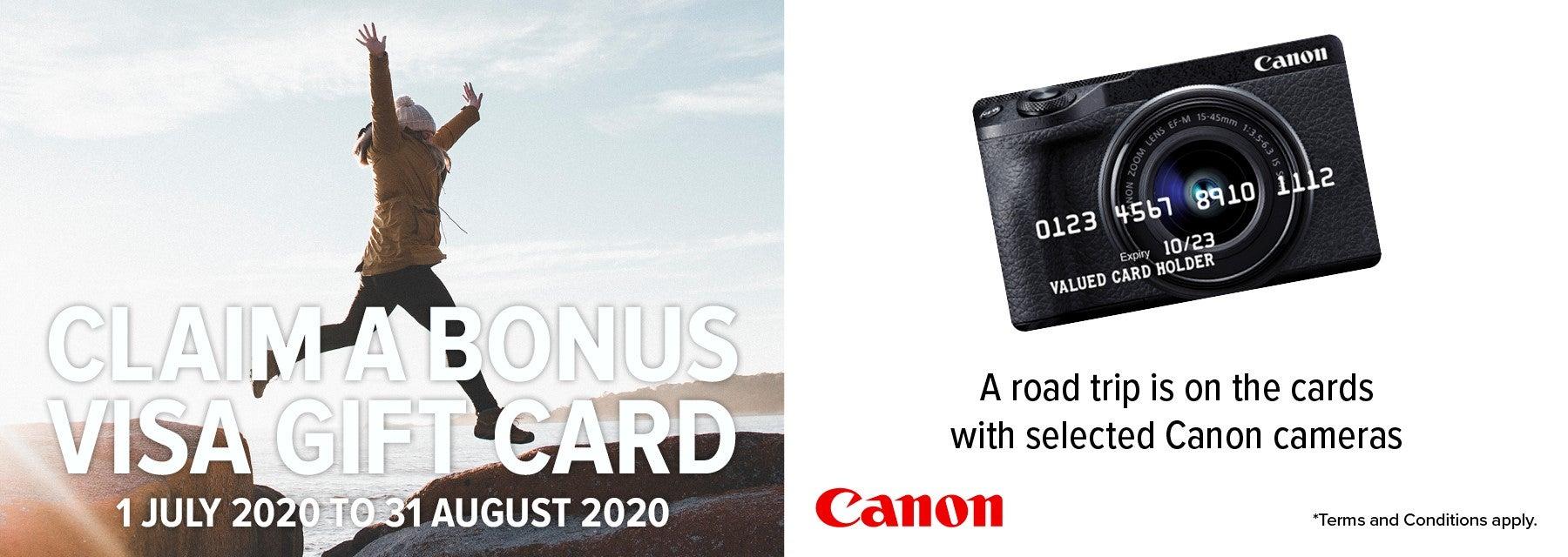 Canon Cashback Offer