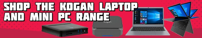 Shop the Kogan Laptop and Mini PC Range