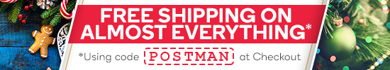 Free Shipping on Almost EVERYTHING*!
