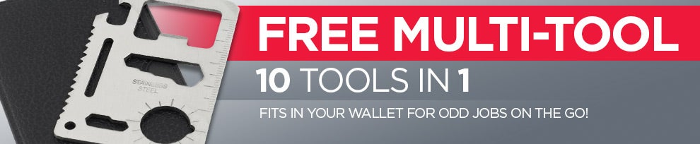 Receive a FREE Stainless Steel Multi-Tool from kogan