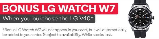 LG Watch W7 Giveaway