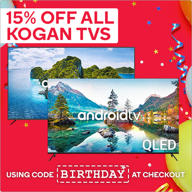 澳洲打折优惠:15周年庆Kogan优惠码 |KOGAN COUPON|KOGAN折扣码
