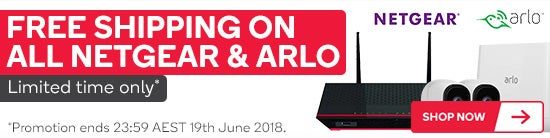 Free Shipping on All Neatgear & Arlo - Limited Time Only